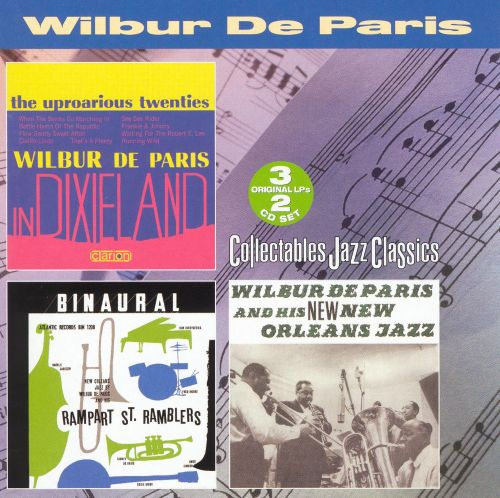 Uproarious Twenties in Dixieland/Wilbur and His New Orleans Orchestra