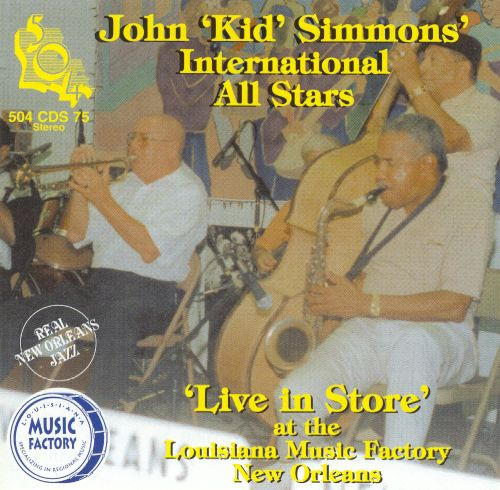 Live in Store at the Louisiana Music Factory, New Orleans