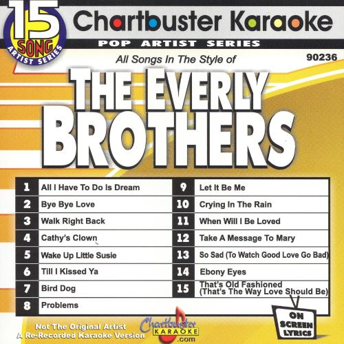 Chartbuster Karaoke: Everly Brothers