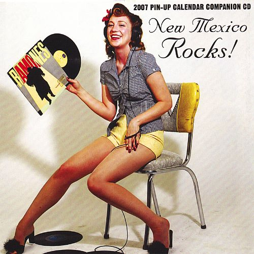 New Mexico Rocks 2007 Pin-Up Calendar Companion CD