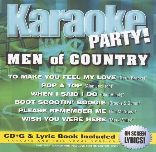 Karaoke Party! Men of Country