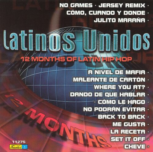 12 Months of Hits from Our Latin Hip Hop Chart