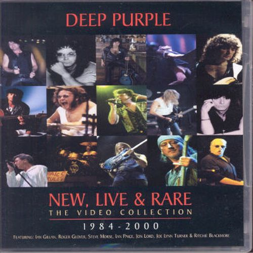 New Live & Rare: The Video Collection 1984-2000 [Video/DVD]
