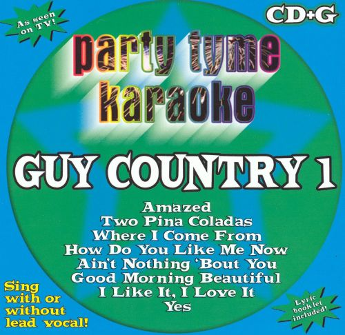Party Tyme Karaoke: Guy Country, Vol. 1