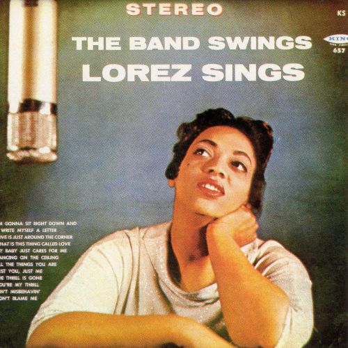 The Band Swings, Lorez Sings