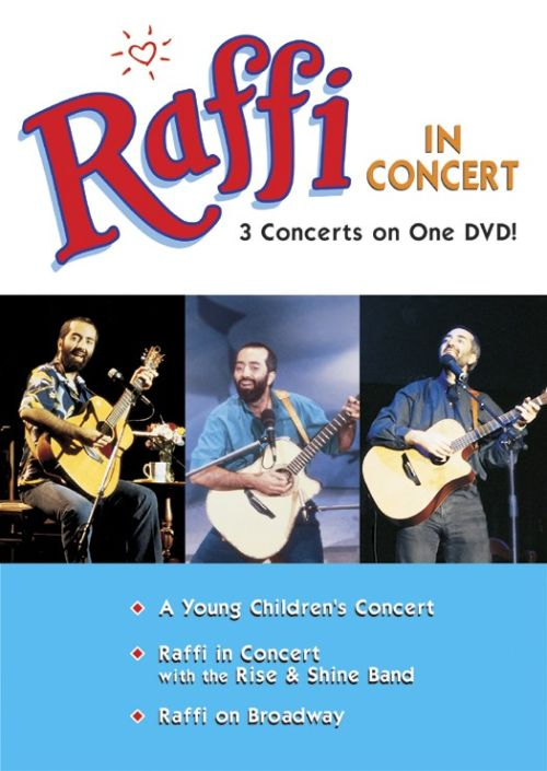 Raffi in Concert: 3 Concerts in One [DVD]