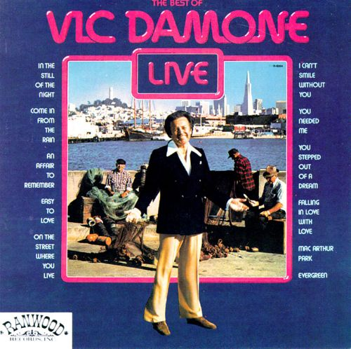 The Best of Vic Damone Live