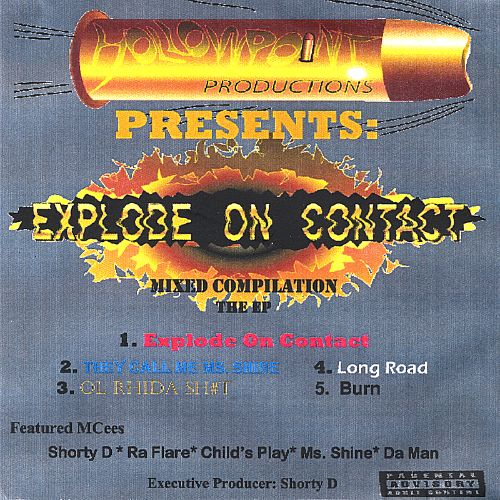 Explode on Contact EP, Version 2