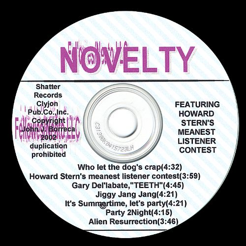 Novelty Songs Featuring the Howard Stern Meanest Listener Contest!
