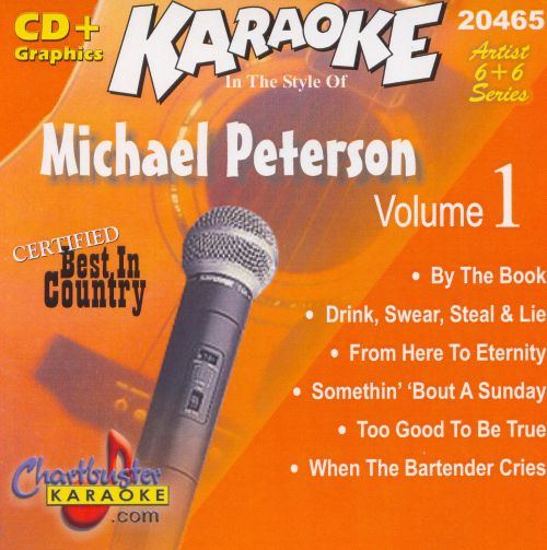 Chartbuster Karaoke: In the Style of Michael Peterson [CD+G]
