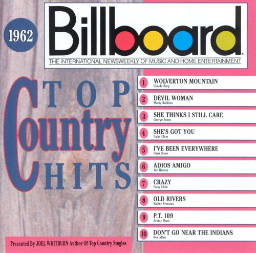 Billboard Top Country Hits 1962