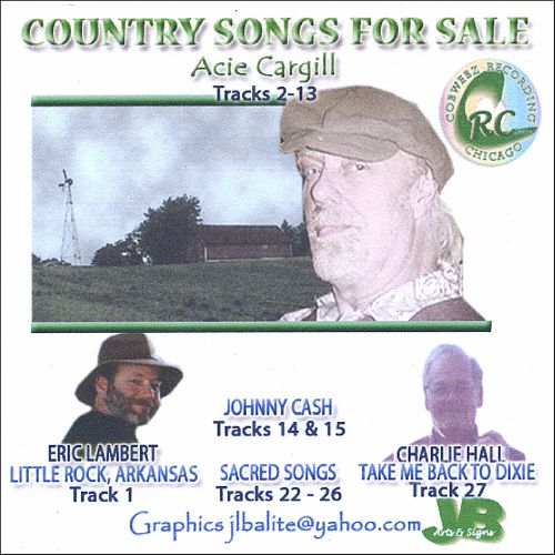 Country Songs for Sale: Acie Cargill