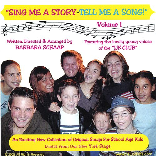 Sing Me a Story-Tell Me a Song, Vol. 1