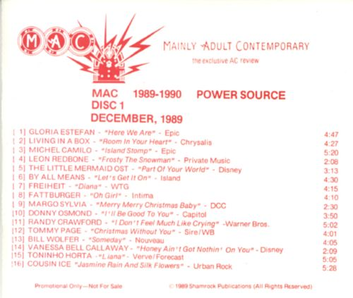 Power Source (1989-1990)