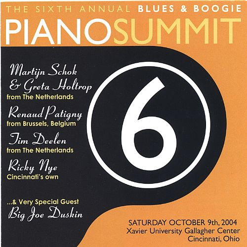 Highlights from the Sixth Annual Blues & Boogie Piano Summit