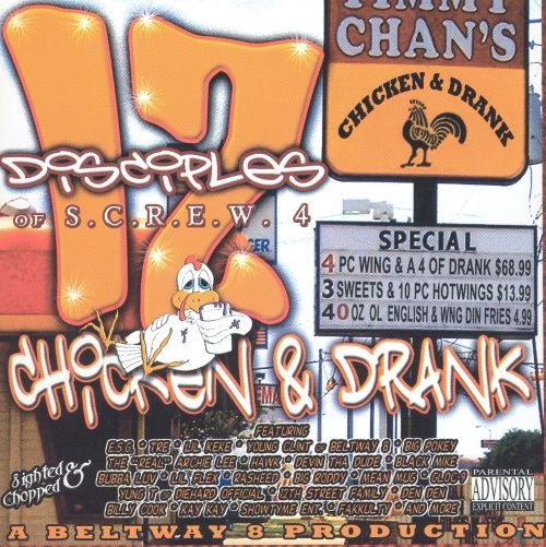 12 Disciples of S.C.R.E.W., Vol. 4: Chicken & Drank