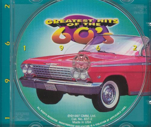 Greatest Hits Of The 60s 1962