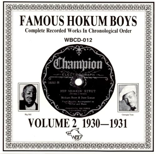 Complete Recorded Works, Vol. 2: 1930-1931
