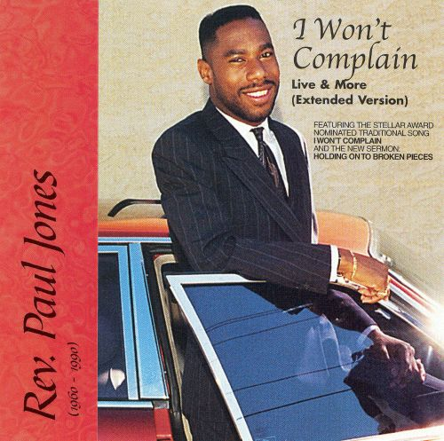 I Won't Complain (Live & More)