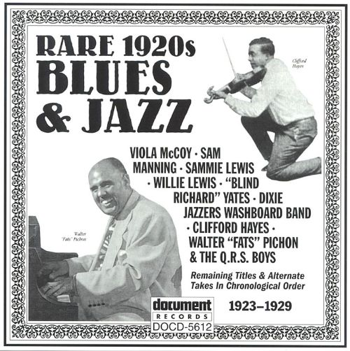 Rare 1920's Blues and Jazz: 1923-1929