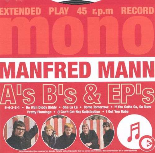 Manfred mann single discography