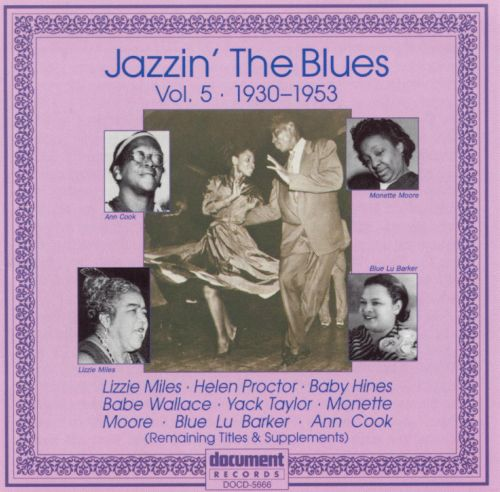 Jazzin' the Blues, Vol. 5: 1930-1953