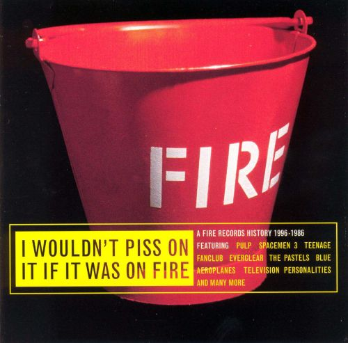 I Wouldn't Piss on It If It Was on Fire [Atomic Pop]