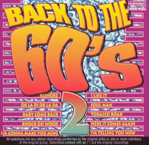 Back to the 60's, Vol. 2 [K-Tel U.K.]