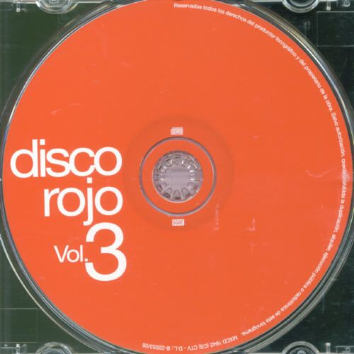 Disco Rojo, Vol. 3
