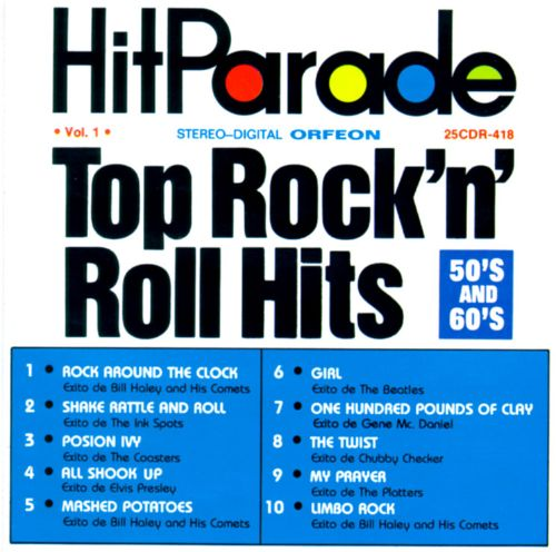Top 60 Best White Bathroom Ideas: Hit Parade Top Rock 'n' Roll Hits: 50's And 60's, Vol. 1