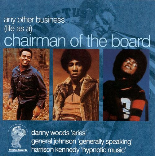 Any Other Business: (Life As A) Chairman of the Board