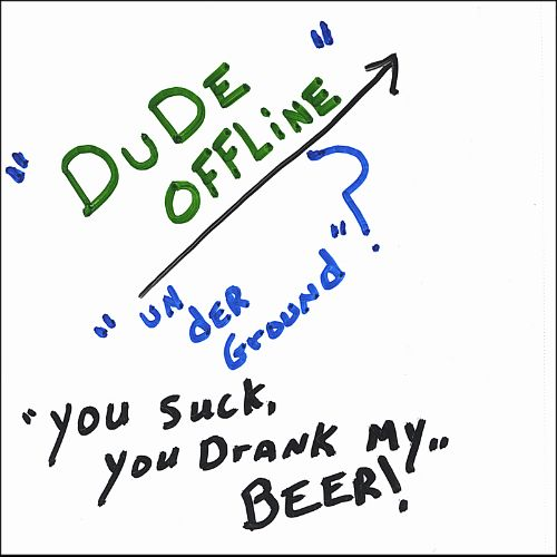 You Suck, You Drank My Beer!