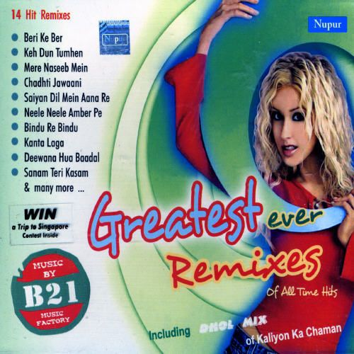 Greatest Ever Remixes of All Tune Hits