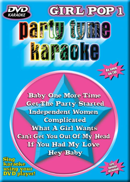 Party Tyme Karaoke: Girl Pop, Vol. 1 [DVD]