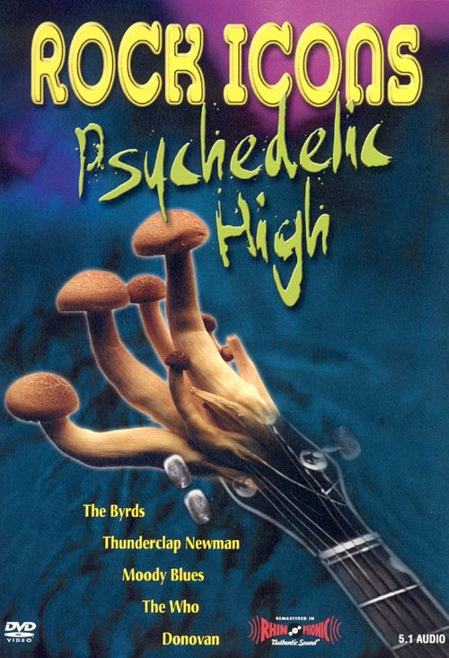 Rock Icons: Psychedelic High [Video/DVD]