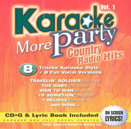 Karaoke Party: More Country Radio Hits, Vol. 1
