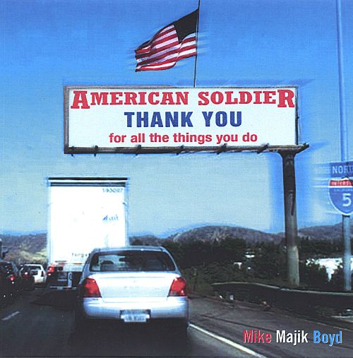 American Soldier Thank You (For All the Things You Do)