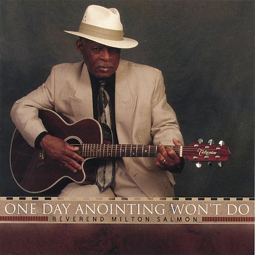One Day Anointing Won't Do