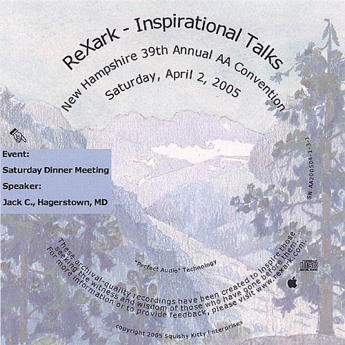 Inspirational Talks: New Hampshire 39th Annual AA Convention