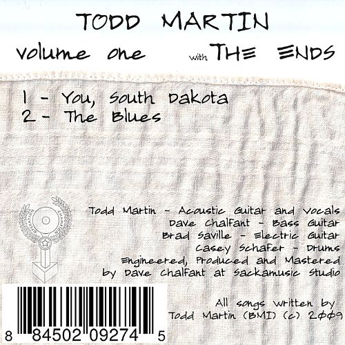 Todd Martin, Vol. 1: With the Ends
