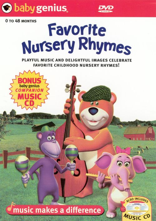 Favorite Nursery Rhymes Dvd