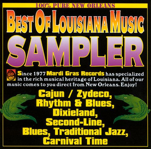 The Best of Louisiana Music [Mardi Gras 1993]