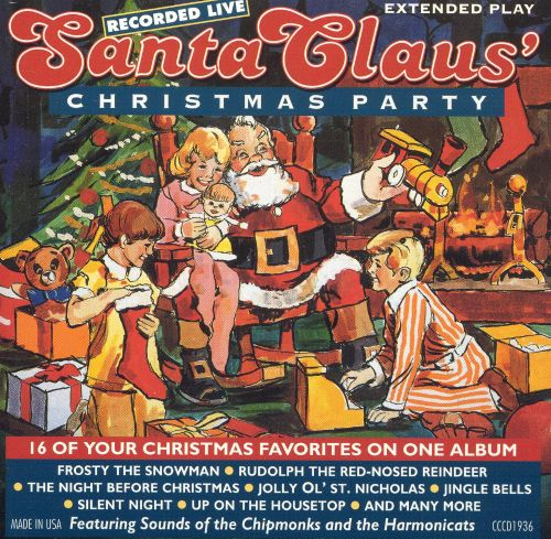 Santa Claus' Christmas Party - The Chipmunks   Songs, Reviews ...