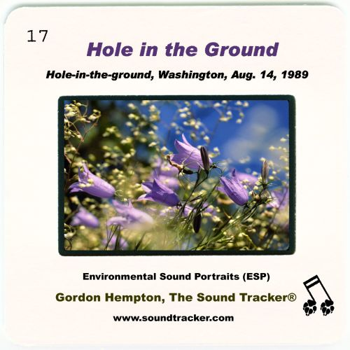 Hole in the Ground: Hole-in-the-ground, Washington, Aug. 14, 1989