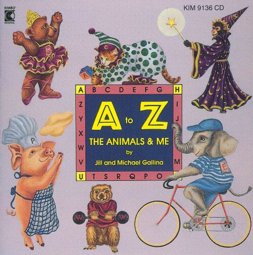 A to Z, The Animals and Me