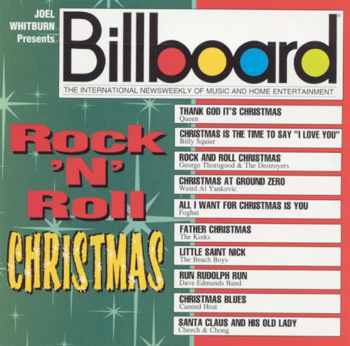 Image result for billboard rock n roll christmas