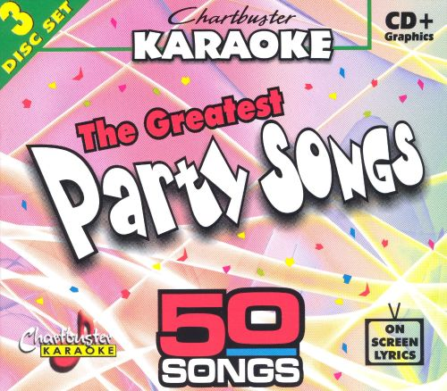 The Chartbuster Karaoke: Greatest Party Songs