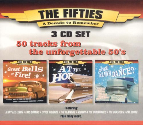 Fifties: A Decade to Remember [3 CD]