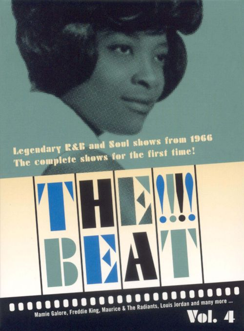 The !!!! Beat: Legendary R&B and Soul Shows from 1966, Vol. 4 [DVD]