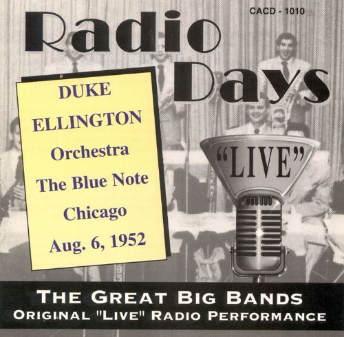 Blue Note NYC 8/6/52